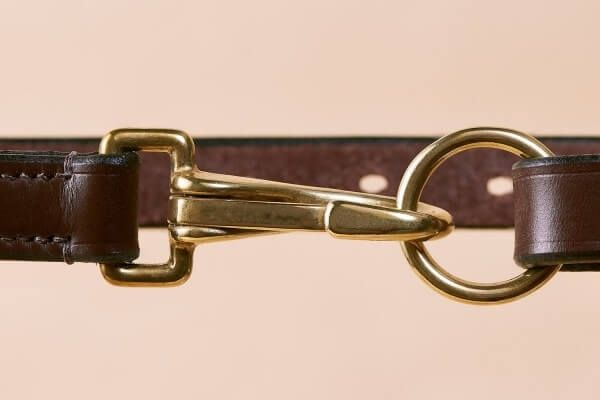 Australian Nut Countryman's Bridle Leather Belt in 3/4""