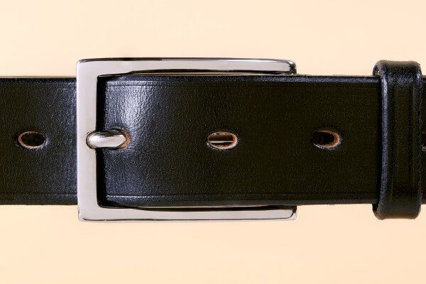 Palladium Mayfair Bridle Leather Belt in Black