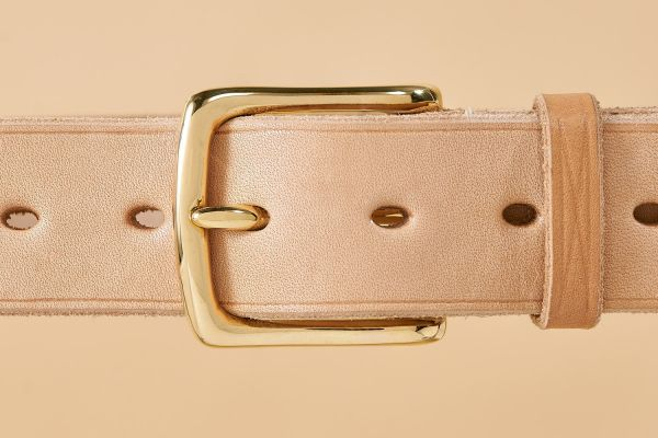 """The Russet Belt in 1 1/2"""" with Brass West End"""
