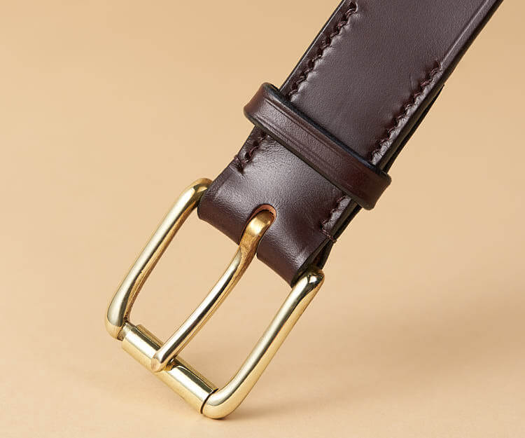 Handmade Australian Nut Bridle Leather Belt