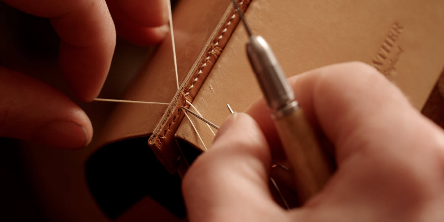 Luxury Leather Goods - Handmade and Hand Stitched in England